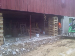 Barn Foundation2