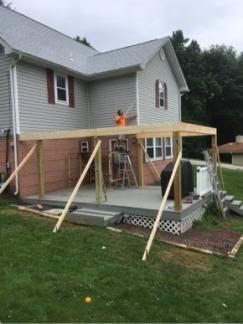 Porch Roof Start
